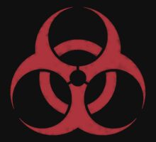 RED BIOHAZARD SIGN by SaxonKG5