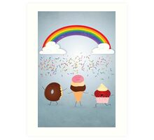A Rain of Sprinkles Art Print
