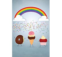 A Rain of Sprinkles Photographic Print