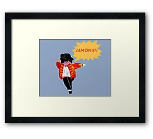 JAMON!! Framed Print