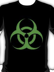 GREEN BIOHAZARD SIGN T-Shirt