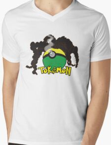 Tokemon Mens V-Neck T-Shirt
