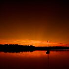 Buzzard Bay Sunset by Jeff Palm Photography
