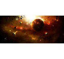 Asteroid Belt Photographic Print
