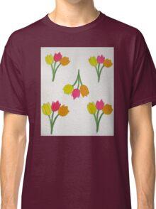 Happy Tulips Classic T-Shirt