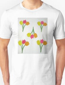 Happy Tulips Unisex T-Shirt