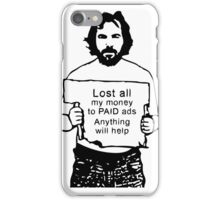 Content Marketing Spoof iPhone Case/Skin