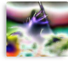 Alien Trumpet Player Canvas Print