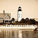 Sandy Neck Light, Cape Cod by Jeff Palm Photography