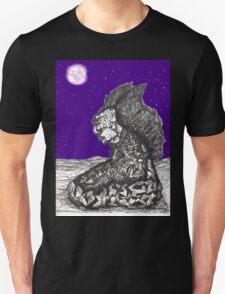 Devil-Angel-Dude Meditates T-Shirt
