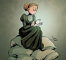 Marie Curie and the Radium. by Jordibayarri