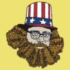 Allen Ginsberg by CultureCloth