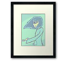 Mint Pastel Andrew Framed Print