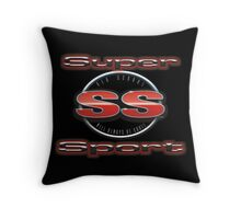 Super Sport 3 Throw Pillow