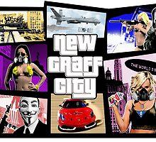 New Graff City by garygorilla
