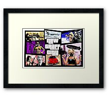 New Graff City Framed Print