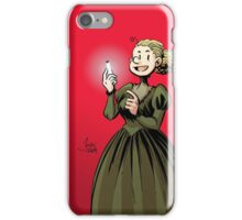 Marie Curie and the Radium 2. iPhone Case/Skin