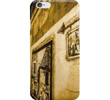 Artsy Alley in Spit, Croatia iPhone Case/Skin