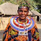 An Impressive Maasai Woman by Carole-Anne