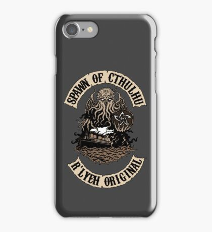 Spawn of Cthulhu - R'lyeh Original iPhone Case/Skin