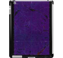 USGS Topo Map Washington State WA Aladdin Mtn 239765 1967 24000 Inverted iPad Case/Skin