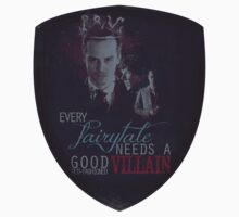 Every fairytale needs a good old, old-fashioned villain. Baby Tee
