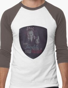 Every fairytale needs a good old, old-fashioned villain. Men's Baseball ¾ T-Shirt