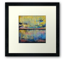 Tropical Rain Framed Print