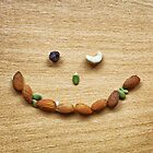 Winking smile face of Mixed Nuts by ieatstars