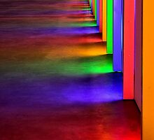 Light Wall Rainbow by SuddenJim