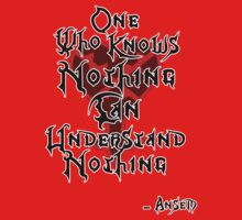 Kingdom Hearts: Ansem quote Kids Clothes