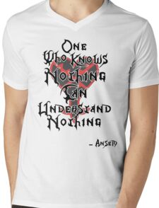 Kingdom Hearts: Ansem quote Mens V-Neck T-Shirt
