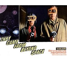 Men From Outer Space Photographic Print