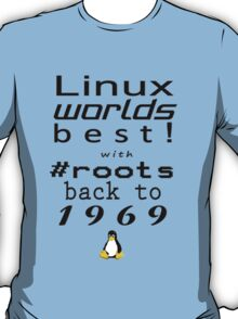 Linux Worlds Best T-Shirt