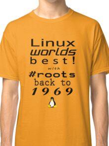 Linux Worlds Best Classic T-Shirt