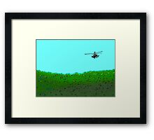 Search and destroy by #fftw Framed Print
