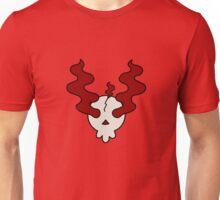 Red Mist Skull Unisex T-Shirt