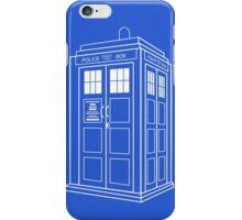 Who Police Booth iPhone Case/Skin