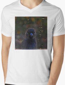 Peak-a-Bird Mens V-Neck T-Shirt