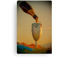 champagne in the sky  Canvas Print