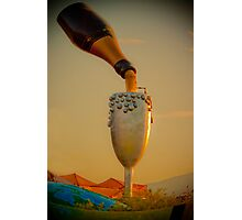 champagne in the sky  Photographic Print