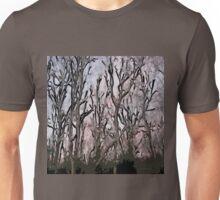 Stylized Trees Unisex T-Shirt