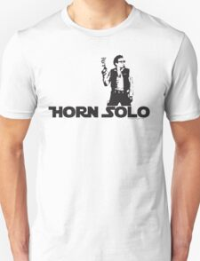 Horn Solo T-Shirt :: Asymetrical Style T-Shirt