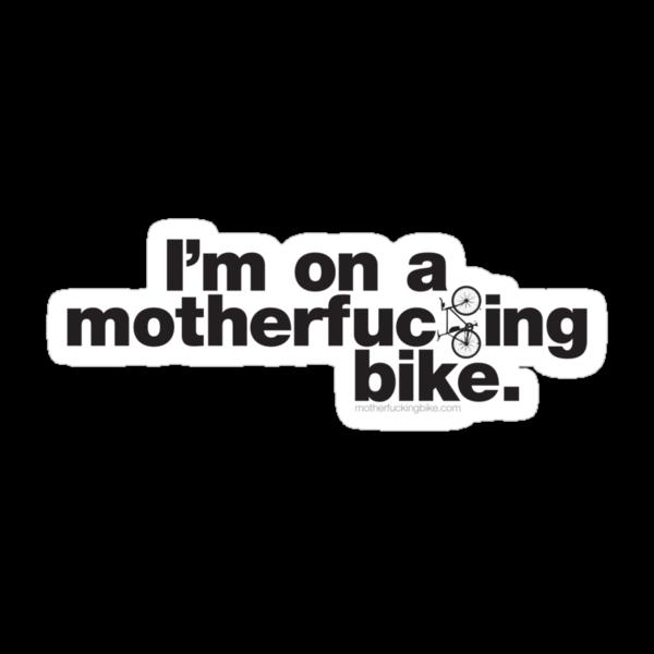 I'm on a MF Bike type Tshirt by MFBike