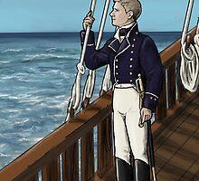 Naval Officer John by bluebell42