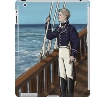 Naval Officer John iPad Case/Skin