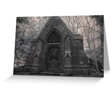 Crypt 2 Greeting Card