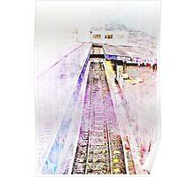 Southampton railway station Poster