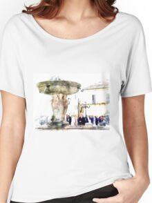 Castel Gandolfo: fountain Women's Relaxed Fit T-Shirt