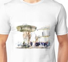 Castel Gandolfo: fountain Unisex T-Shirt